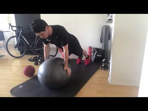 Stability Ball Pushup   Body360 Fit Workout Blog