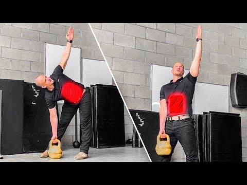 Kettlebell Abs - Low Windmill - Standing Abs