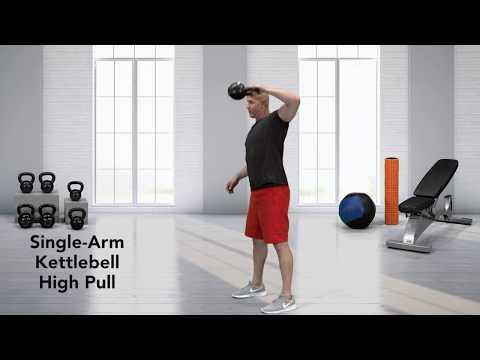 How to do a Single-Arm Kettlebell High Pull