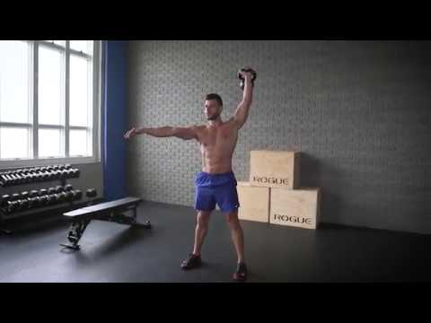 Kettlebell Clean And Press