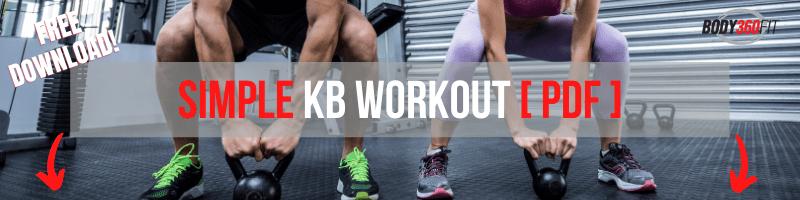 Simple KB Workout [PDF] | Body360 Fit