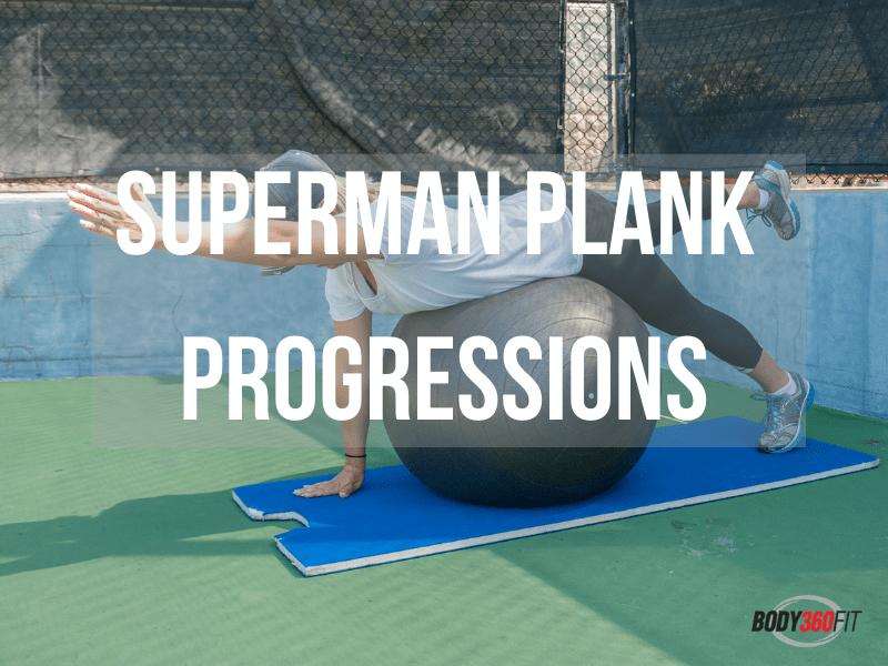 Superman Plank Progressions: How to Progress the Superman Plank