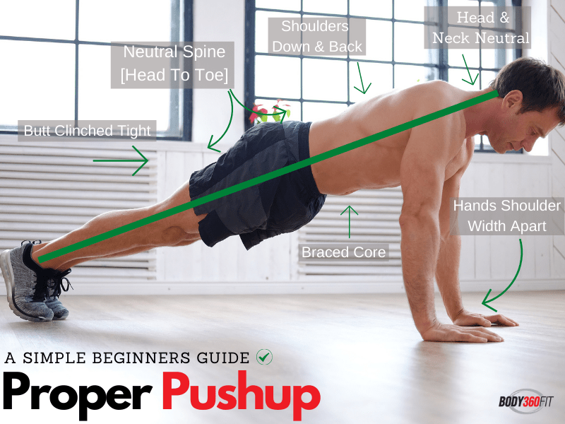 How To Do Pushups For Beginners   Body360 Fit