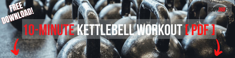 10-Minute Kettlebell Workout PDF | Body360 Fit