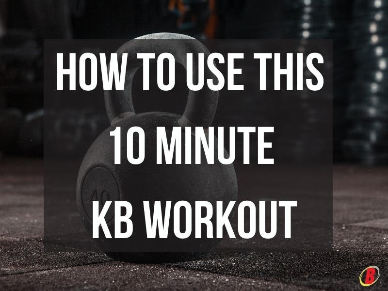 10 Minute Kettlebell Workout: How To Use | Body360 Fit