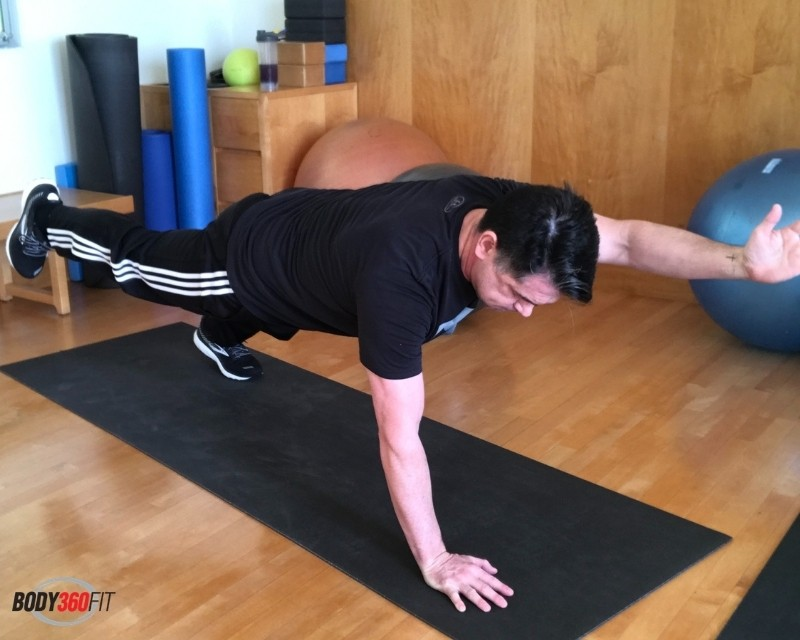 Superman Plank Exercise   Body360 Fit